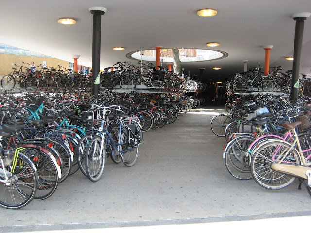 Bicycle Parking at the Train Station