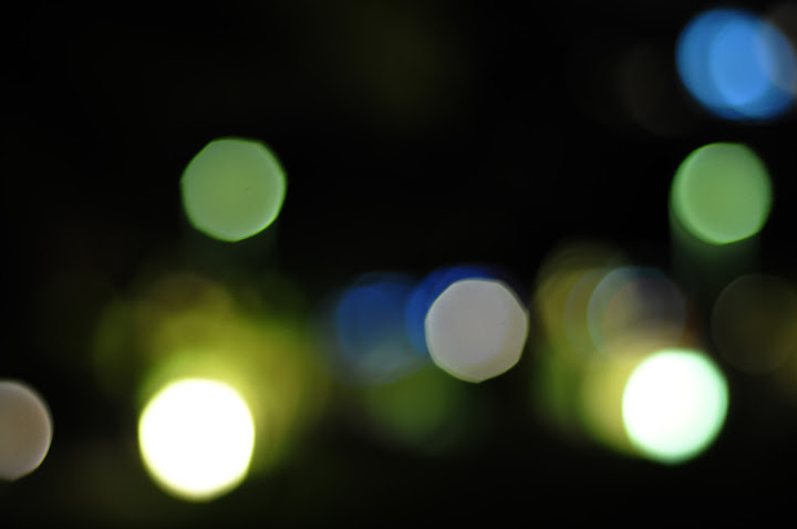 light bokeh textures