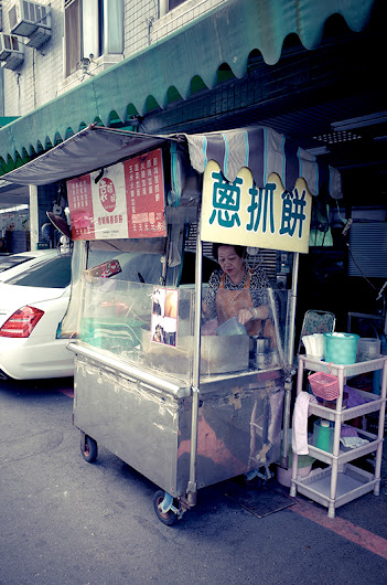 【到處吃】台南市_安平區_袁媽媽蔥抓餅