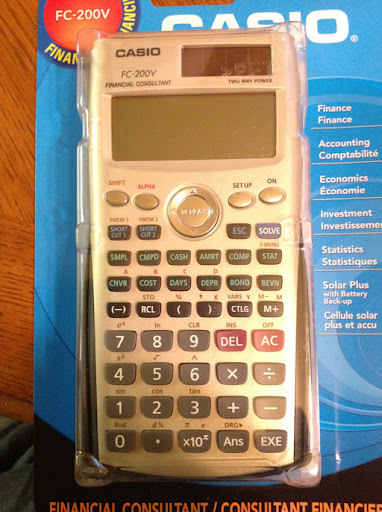 EddieS Math And Calculator Blog First Look Casio FcV