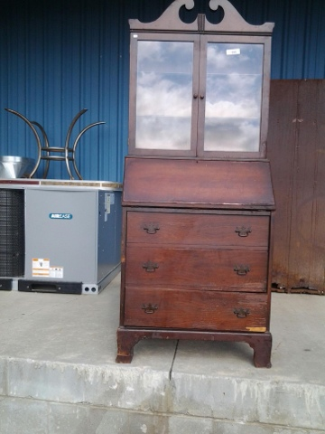 I Learned Tonight That This Handsome Young Man Isnu0027t Some Mid Century Or  Later Piece Of Solid Wood Furniture. Oh, No... Heu0027s An Early 1900s Walnut  Secretary ...