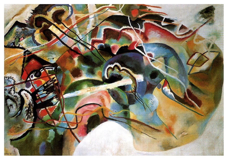 Wassily Kandinsky – Picture With A White Border, 1913