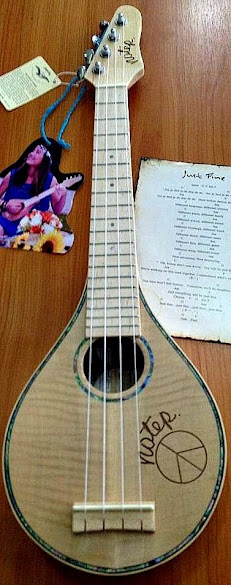 East Start Notep long neck Soprano Ukulele