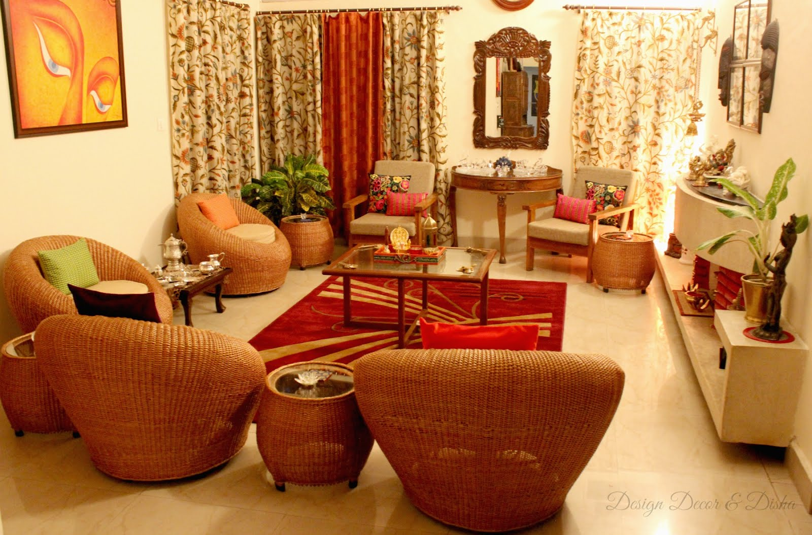 The pan indian picture of home decor
