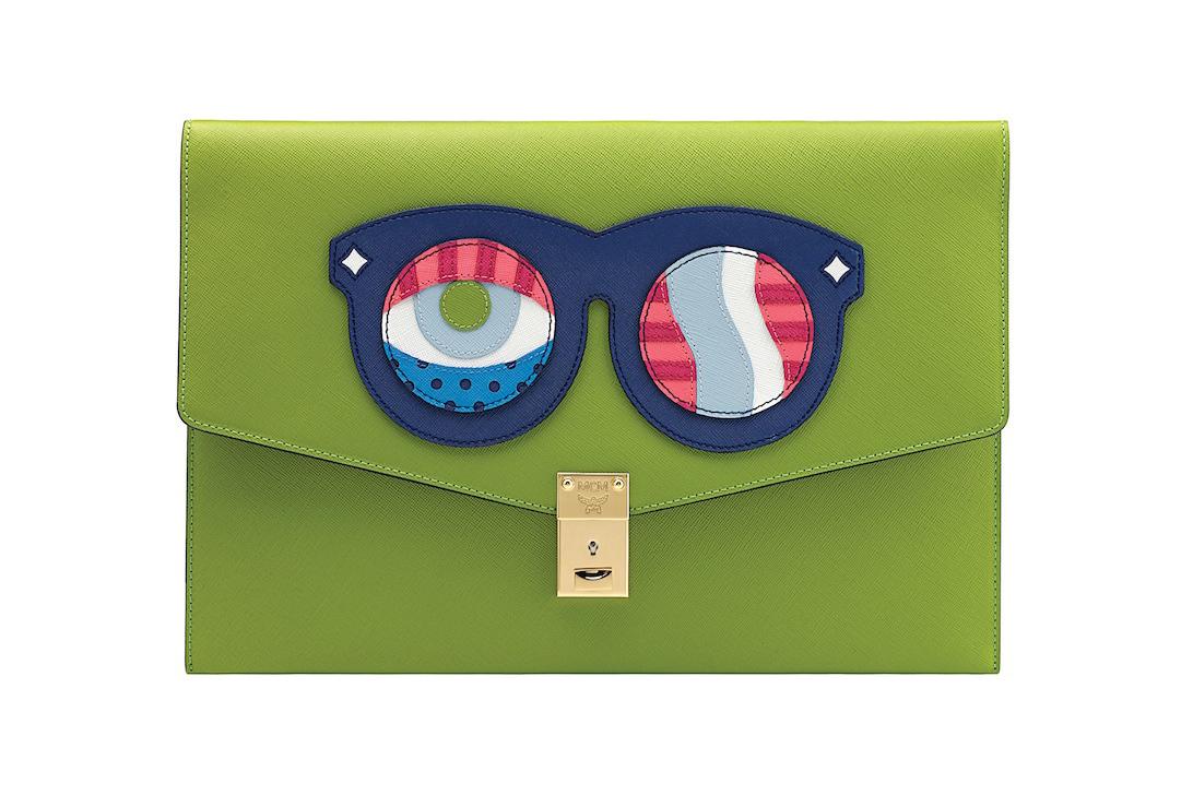 *普普眼鏡撞色包:藝術家Craig & Karl x MCM 2013春夏系列! 8
