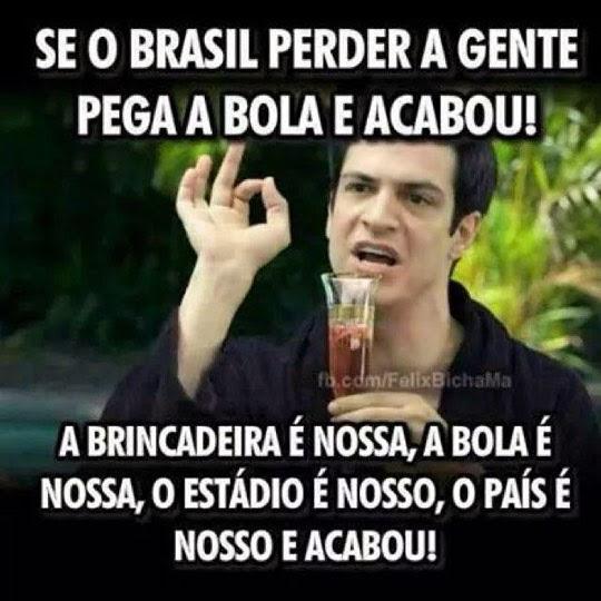 23 imagens cómicas que provam o bom humor brasileiro face à humilhação na Copa do Mundo