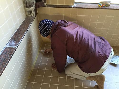 浴槽工事1