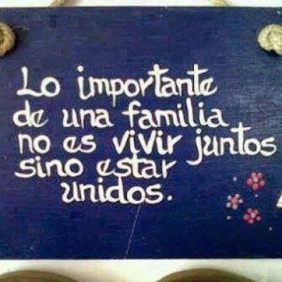Lo importante de una familia