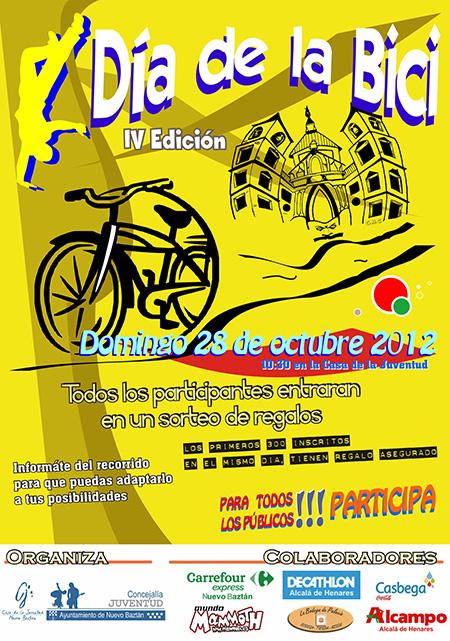 Dia de la Bici en Nuevo Baztán el domingo 28 de octubre 2012