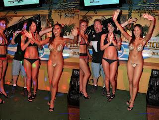 Bikini bob contest tiki