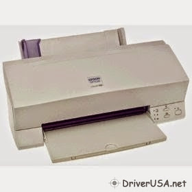 download Epson Stylus 640 printer's driver