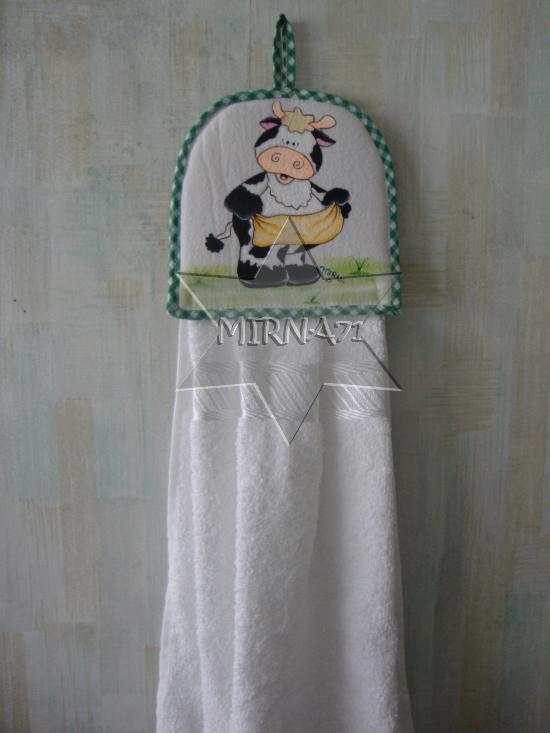 Taller mis pinceladas: toalla para la cocina
