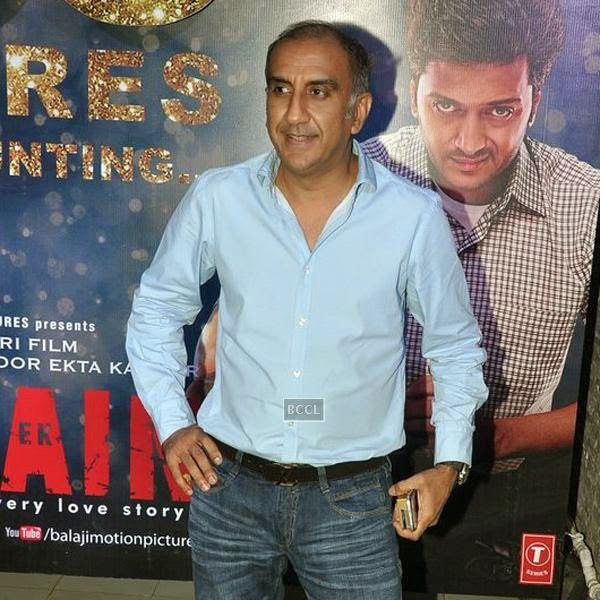 Vipul Shah at the success party of Bollywood movie 'Ek Villain', held at Ekta Kapoor's residence on July 15, 2014.(Pic: Viral Bhayani)