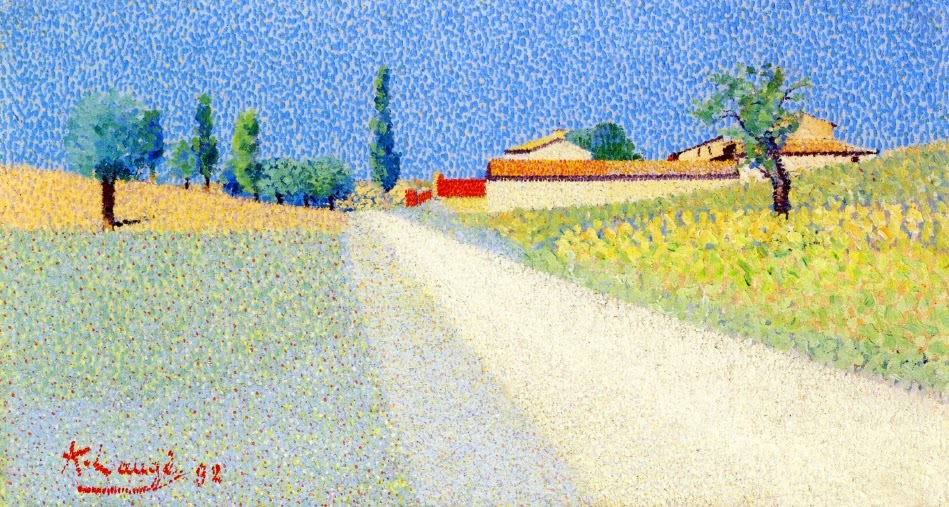 Achille Laugé - The Road in Compagne, 1892