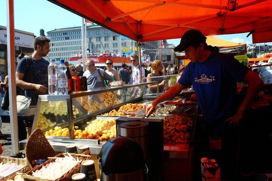 kauppatori market helsinki seafood platter