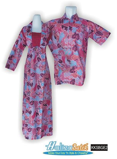 grosir batik pekalongan, Baju Seragam, Gamis Batik Sarimbit, Muslim Sarimbit