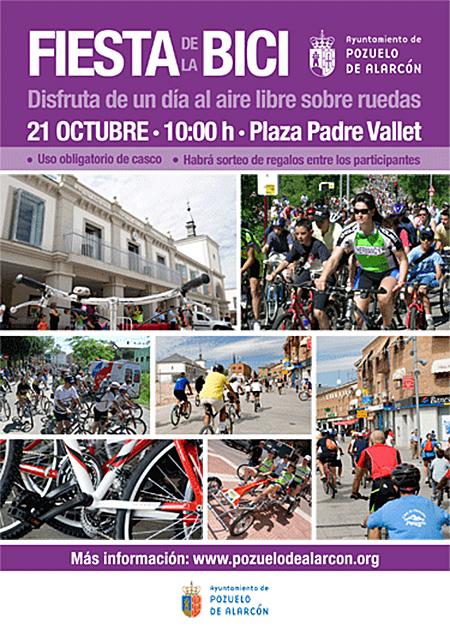 Fiesta de la Bicicleta 2012 en Pozuelo de Alarcón, el domingo 21 de octubre