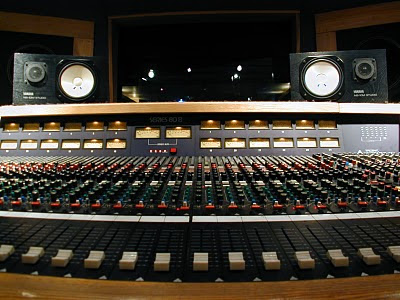 Threshold Recording Studios NYC Trident 80B console