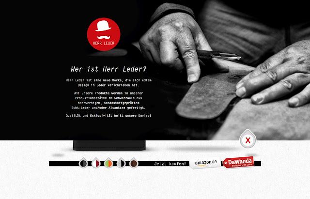 *來體驗鬍鬚紳士的滑動魅力吧!:HERR LEDER Web Site 6
