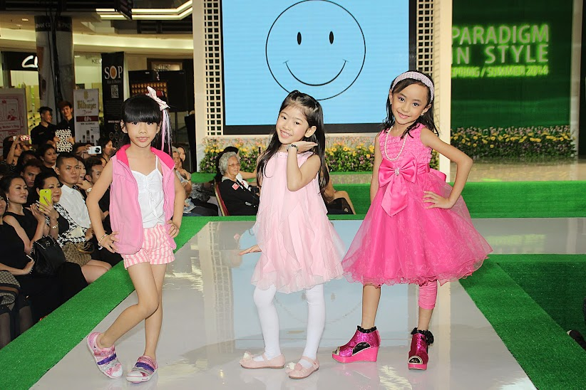 Show by kid modelling graduates ACA