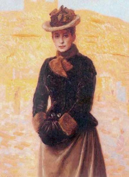 Laurits Tuxen - First Wife