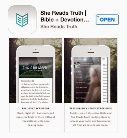 Just An Ordinary Family: In Review: She Reads Truth App