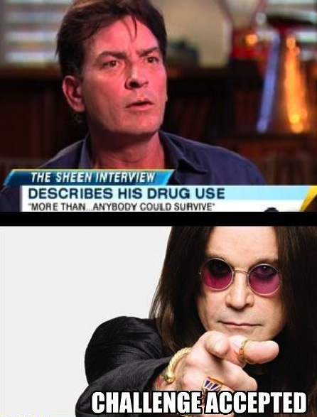 Ozzy disagrees...