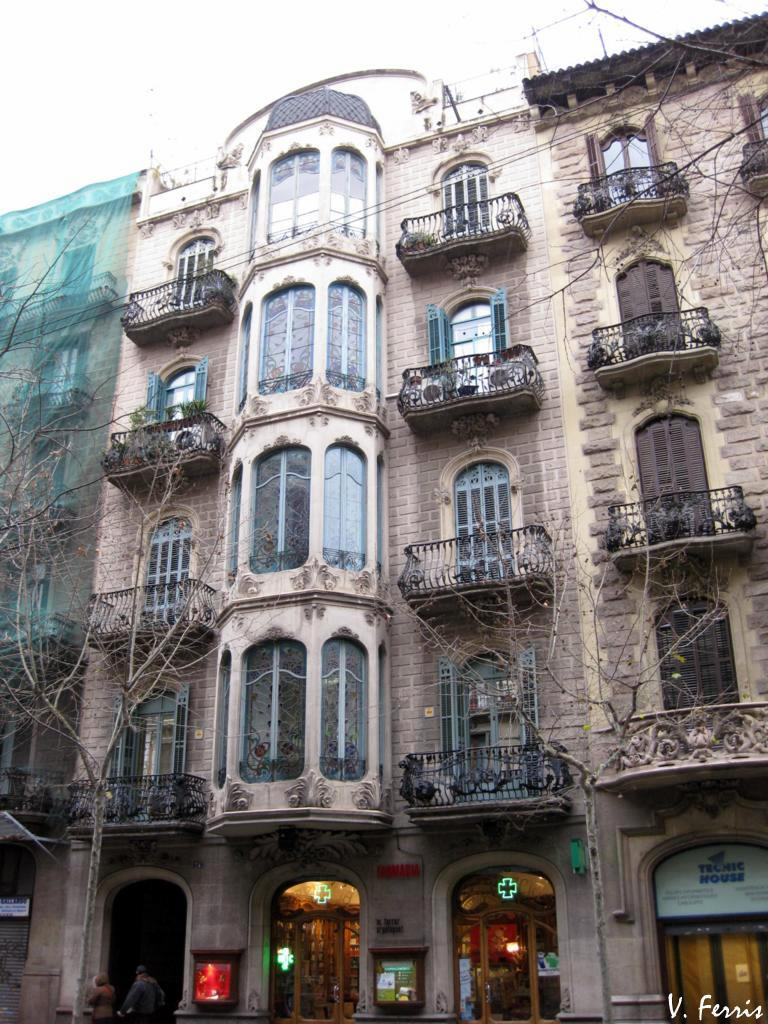 Casa agust anglora barcelona modernista - Casa modernista barcelona ...