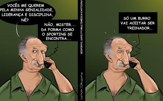 Por que razão o Sporting quer Scolari para treinador?