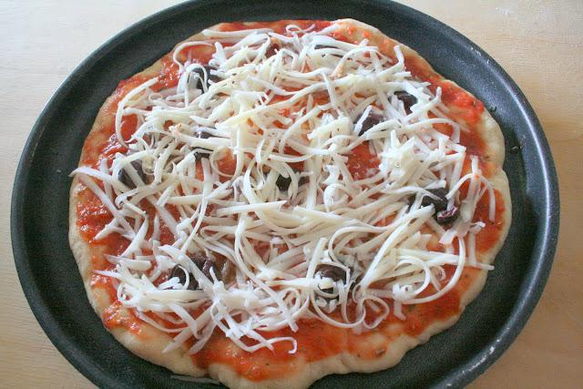 Рецепт итальянской пиццы с пошагово
