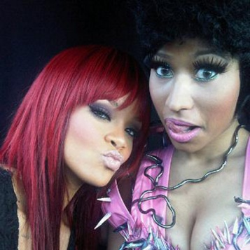 rihanna and nicki minaj living together. 2011 rihanna ft nicki minaj