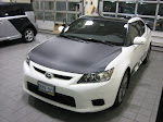 2011 Scion - Carbon Fibre hood and Racey stripes package