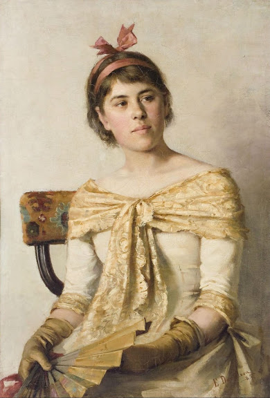 Elin Danielson-Gambogi - Rosa (also known as The Artist's Sister)