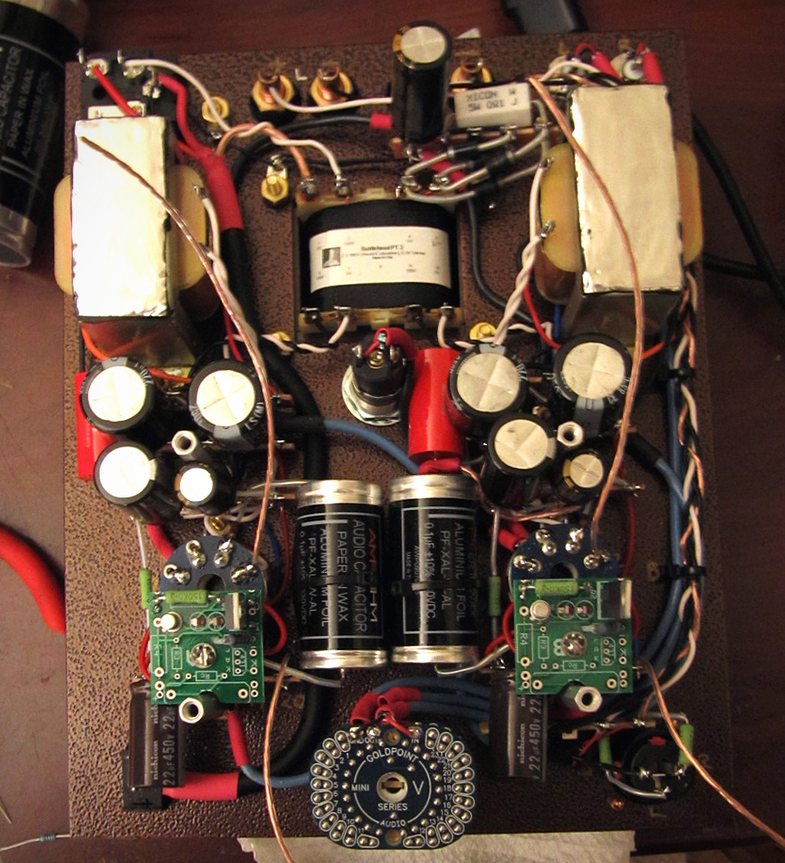 Diy Audio Electronics From Zynsonixcom The Bottlehead Single Ended Bare Printed Circuit Board For Objective2 O2 Headphone Amplifier C4s Boards Fitted