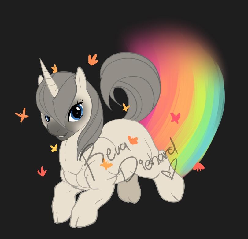 Undead Nightmare Unicorn. My Little Undead Nightmare