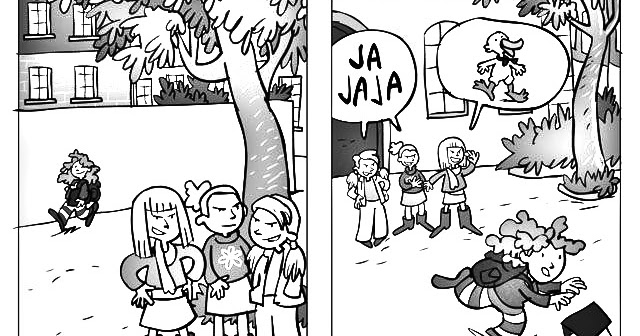 Pinto Dibujos: Dibujos de Bullying acoso escolar para colorear y
