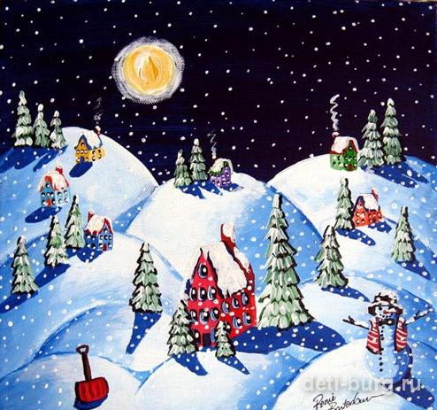 Зимние песни для детей