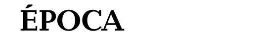 Baltica Bold font logo revista Época