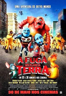 Filme Poster A Fuga do Planeta Terra R5 XviD Dual Audio & RMVB Dublado