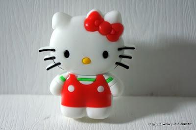 裝潢五金 品名:KT058-Kitty貓 型式:單孔 規格:寬40*高24m/m 材質:塑膠 顏色:白+紅色 玖品五金