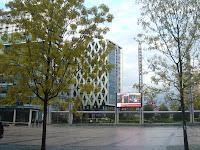 Plaza outside the BBC