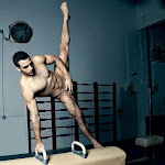 I want this to be real.  This is ridiculous if so, as Danell Leyva knows he has nothing to be ashamed of naked. DAMN.