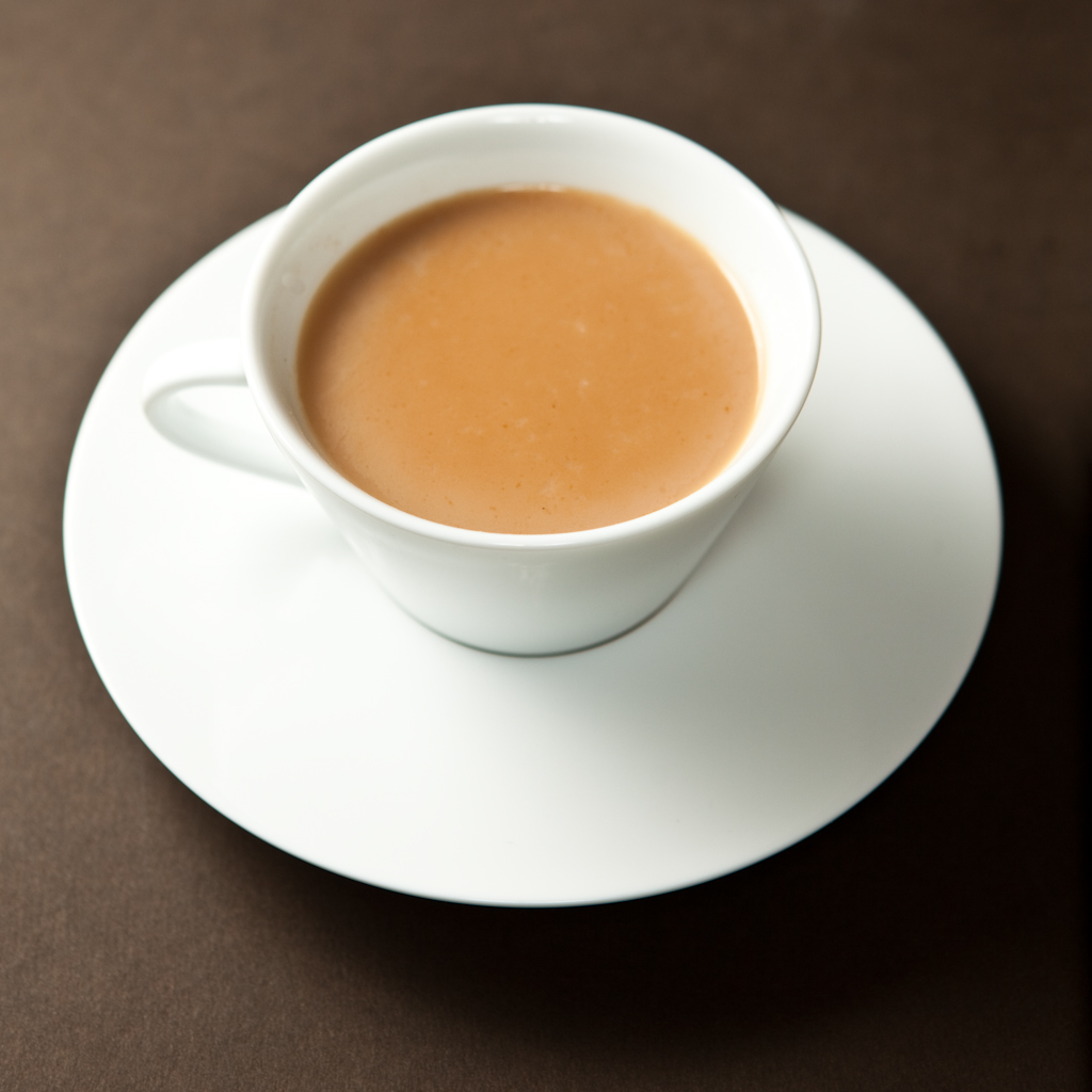 masala chai is tea prepared with a blend of spices a masala the tea ...