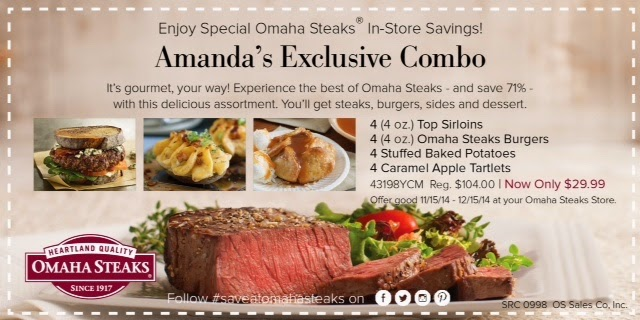 Kidding Around Omaha Steaks