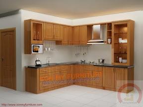 Tủ bếp gỗ 0121