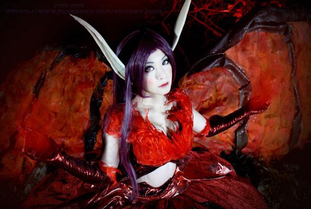 """PipiChu biến hóa với cosplay """"thiên thần sa ngã"""" - Ảnh 8"""