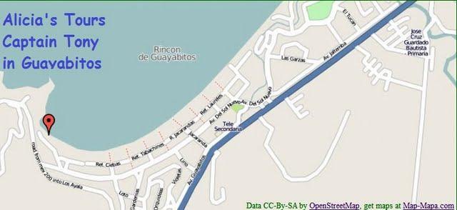 map of  Guayabitos