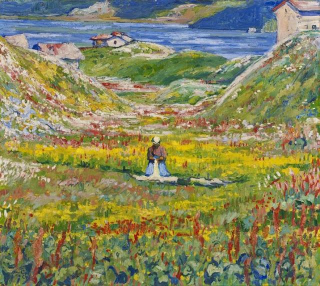 Giovanni Giacometti - Valle Fiorita, 1912-1924