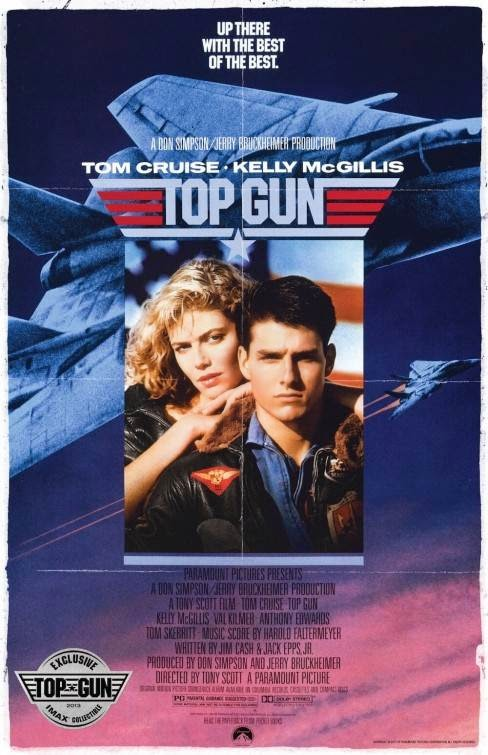 Poster Of Top Gun (1986) Full Movie Hindi Dubbed Free Download Watch Online At Alldownloads4u.Com