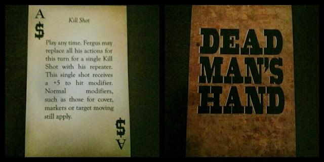Dead man's hand carta de Ely Fergus